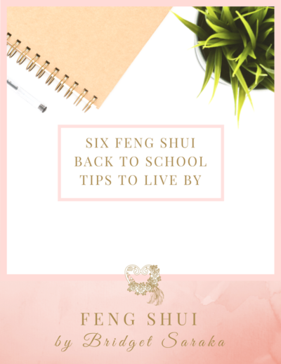 Six Feng Shui Back to School Tips to Live by