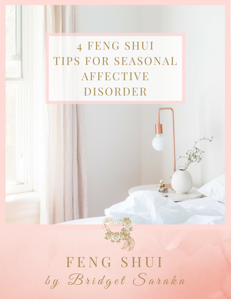 4 Feng Shui Tips for Seasonal affective Disorder