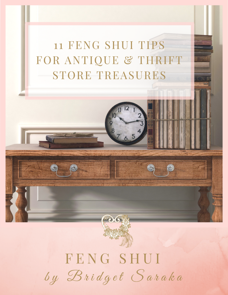 11 Feng Shui Tips For Antique & Thrift Store Treasures