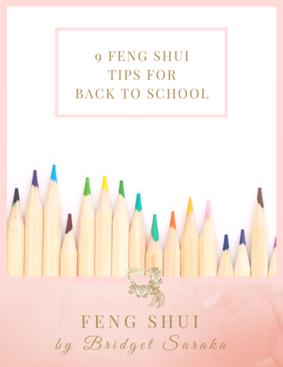 9 Feng Shui Tips for Back to School