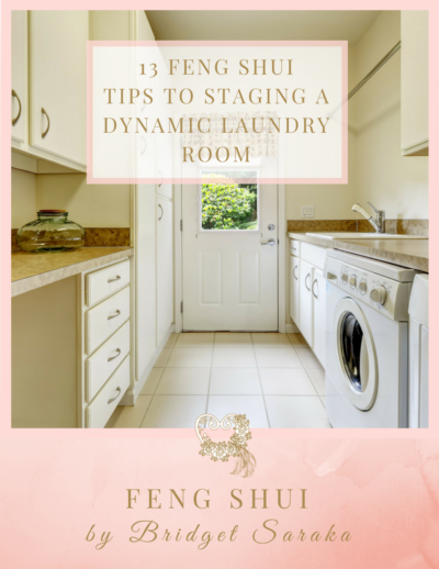 13 Feng Shui Tips to Staging a Dynamic Laundry Room