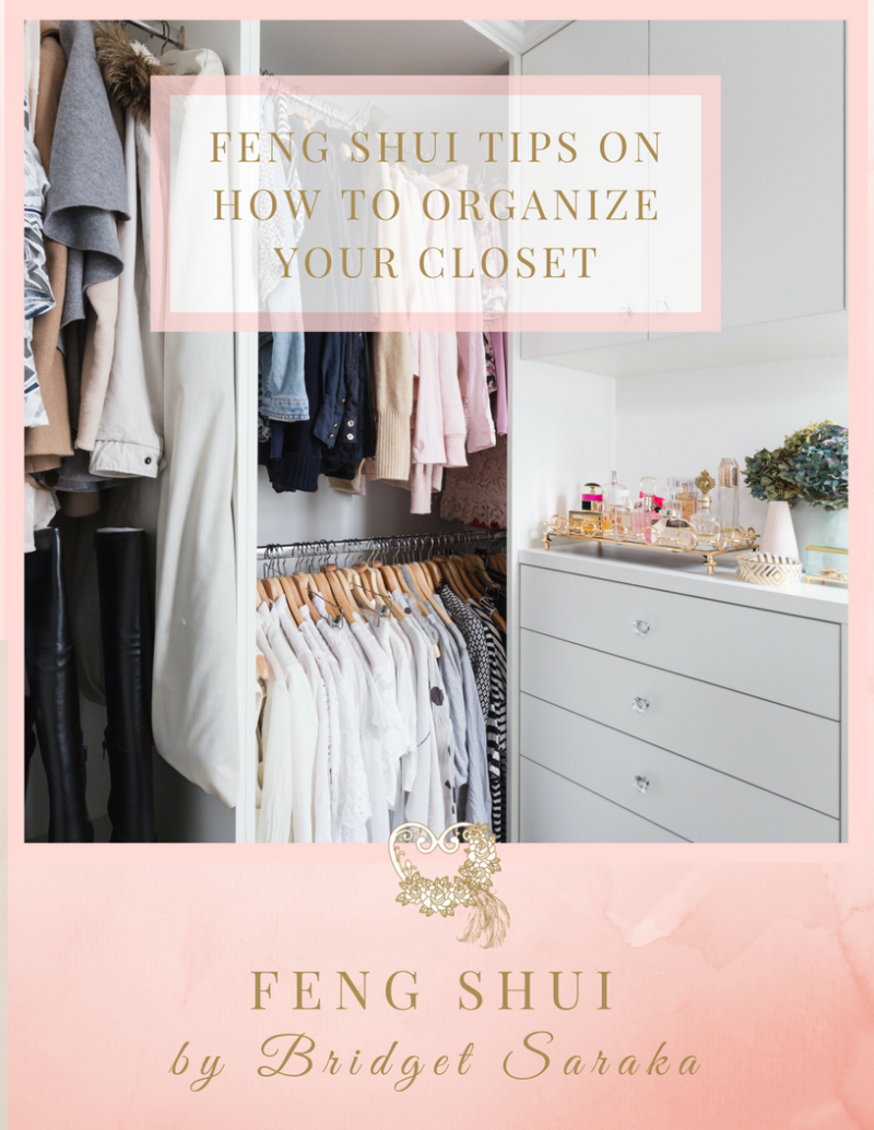 Feng Shui Tips on How to Organize Your Closet