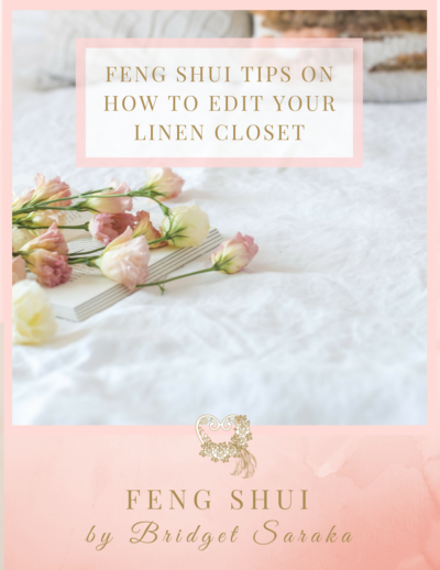 Feng Shui tips on How to Edit Your Linen Closet
