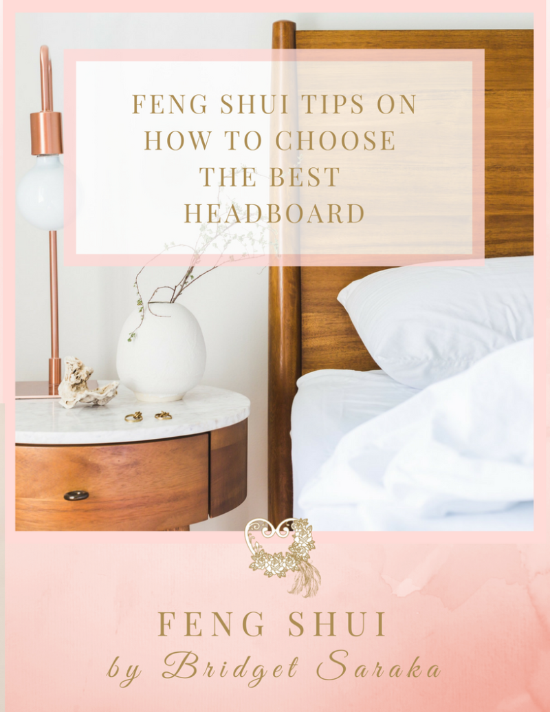 Expert Feng Shui Toulouse feng shui tips on how to choose the best headboard - feng