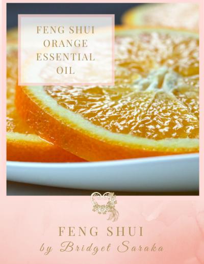 Feng Shui Orange Essential Oil by Feng Shui by Bridget