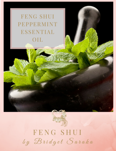 Feng Shui Peppermint Essential Oil by Feng Shui by Bridget