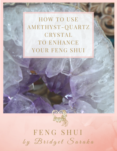 How to use Amethyst-Quartz Crystal Geode to Enhance Your Feng Shui
