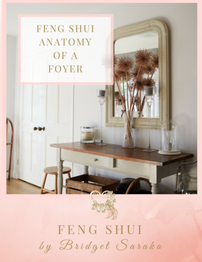 The Feng Shui Anatomy of Foyer