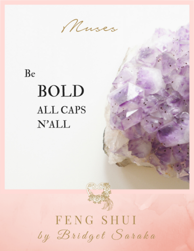 Be BOLD all CAPS n'all