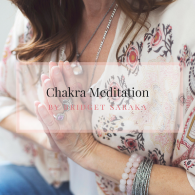 Chakra Meditation Audio by Bridget Saraka