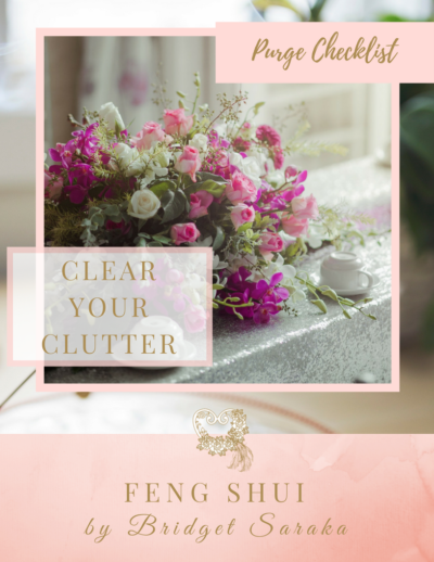 Feng Shui Clear Your Clutter