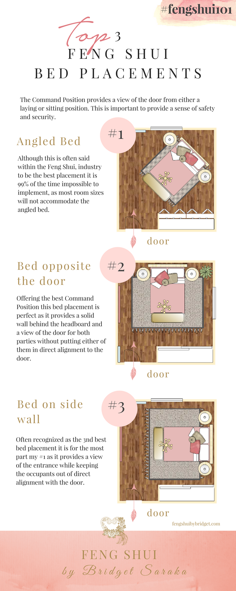 Top 3 Best Feng Shui Bed Placements #fengshui101 - Feng Shui ...