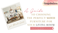 A Guide to Choosing the Perfect Sized Furniture for Your Living Room
