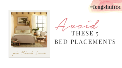 Avoid These 5 Bed Placements #fengshui101