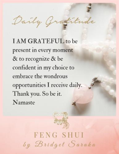 Daily Gratitude Volume 3 Feng Shui by Bridget (1)