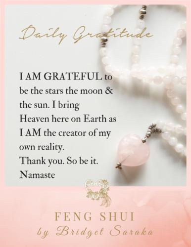 Daily Gratitude Volume 3 Feng Shui by Bridget (12)