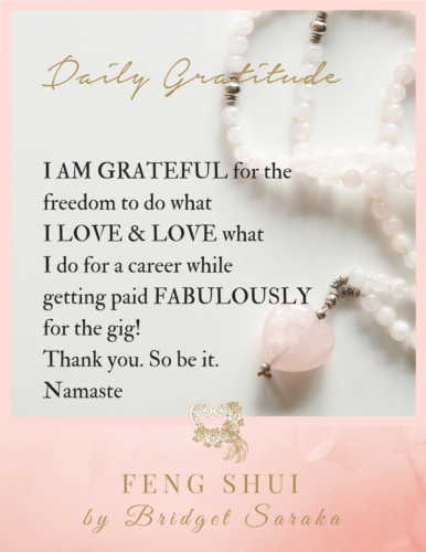 Daily Gratitude Volume 3 Feng Shui by Bridget (13)