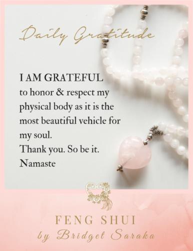Daily Gratitude Volume 3 Feng Shui by Bridget (17)
