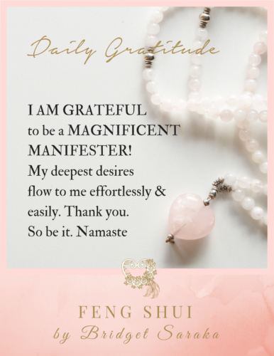 Daily Gratitude Volume 3 Feng Shui by Bridget (18)