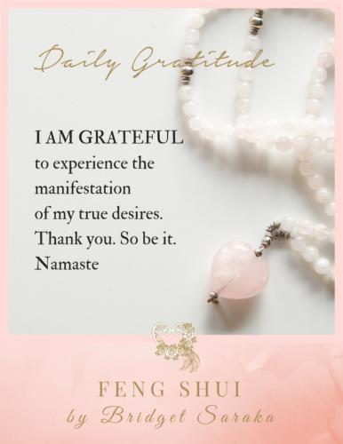 Daily Gratitude Volume 3 Feng Shui by Bridget (22)