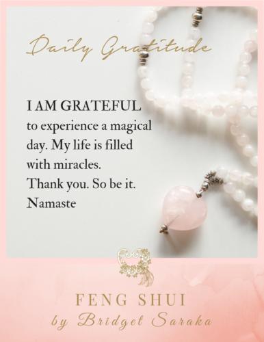 Daily Gratitude Volume 3 Feng Shui by Bridget (23)