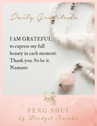 Daily Gratitude Volume 3 Feng Shui by Bridget (30)