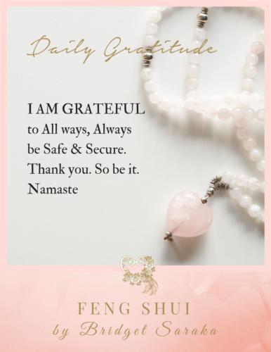 Daily Gratitude Volume 3 Feng Shui by Bridget (4)