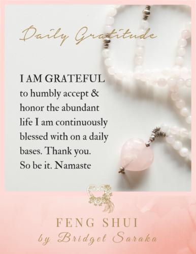 Daily Gratitude Volume 3 Feng Shui by Bridget (5)