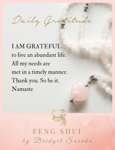 Daily Gratitude Volume #5 Feng Shui by Bridget 1 (26)
