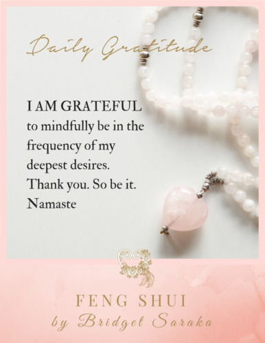 Daily Gratitude Volume #7 Feng Shui by Bridget 1 (2)