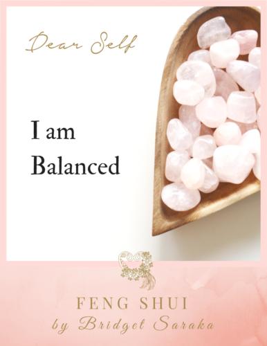 Dear Self Volume #3 Feng Shui by Bridget (13)