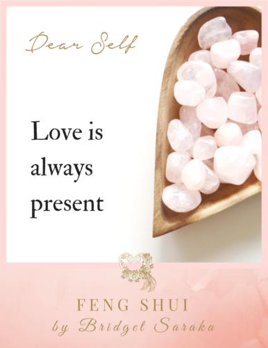 Dear Self Volume #3 Feng Shui by Bridget (15)
