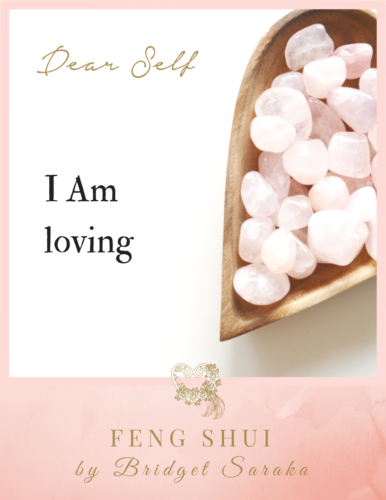 Dear Self Volume #4 Feng Shui by Bridget (1)
