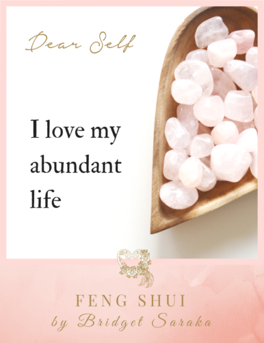 Dear Self Volume #4 Feng Shui by Bridget (15)