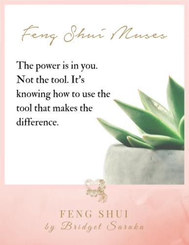 Feng Shui Muses by Bridget Saraka